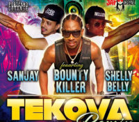 BOUNTY KILLER BOOSTS SANJAY AND SHELLY BELLY'S 'TEKOVA' SINGLE