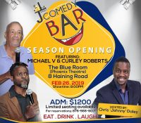 JOHNNY LIVE COMEDY BAR SPORTS NEW VENUE