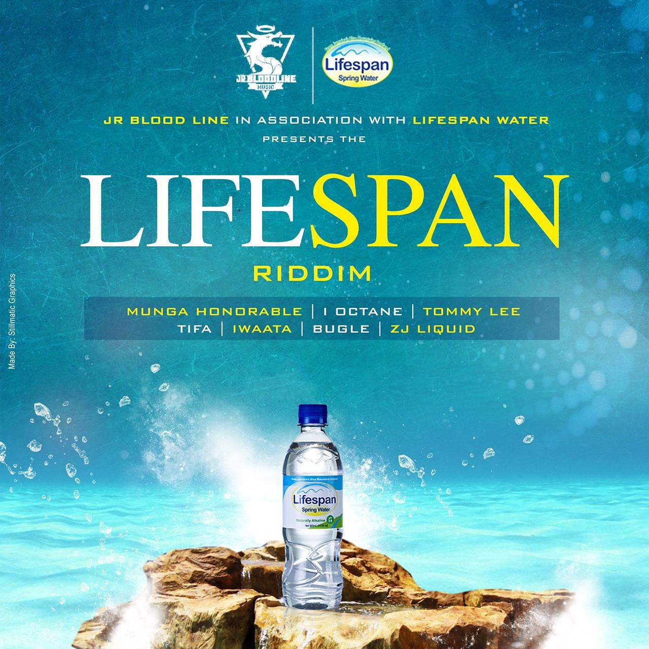 LIFESPAN SPRING WATER DABBLES IN DANCEHALL - Street Cred Jamaica